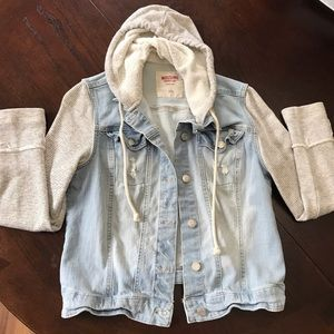 Mossimo Jean Jacket/Hoodie